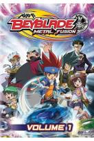 Beyblade: Metal Fusion, Vol. 1