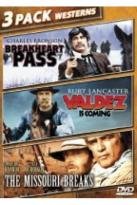 Breakheart Pass/Valdez Is Coming/The Missouri Breaks
