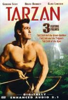Tarzan Triple Feature - Tarzan and the Trappers/Tarzan and the Green Goddess/Tarzan of the Apes