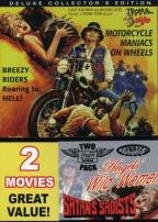 Heaven and Hell On Wheels 2 Pack- Angel's Wild Women/Satan's Sadists