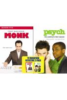 Monk - Season Five/Psych - Season One