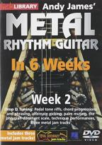 Lick Library: Andy James' Metal Rhythm Guitar in 6 Weeks: Week 2