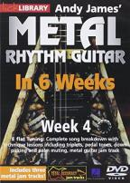 Lick Library: Andy James' Metal Rhythm Guitar in 6 Weeks: Week 4