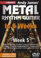 Lick Library: Andy James' Metal Rhythm Guitar in 6 Weeks: Week 5