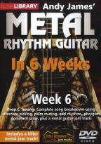 Lick Library: Andy James' Metal Rhythm Guitar in 6 Weeks: Week 6