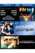 Varsity Blues/Any Given Sunday/We Are Marshall