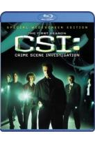 CSI - Crime Scene Investigation - The Complete First Season