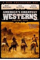 Great American Western Collector's Set, Vol. 5