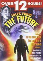 Tales From The Future - 9 Movies 3 DVDS