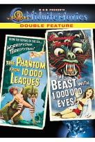 Midnite Movies Double Feature - The Phantom From 10,000 Leagues/The Beast With 1,000,000 Eyes