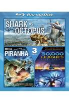 30,000 Leagues Under the Sea/Mega Shark vs. Giant Octopus/Mega Piranha