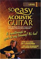 So Easy Acoustic Guitar: Level 1