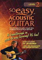 So Easy Acoustic Guitar: Level 2