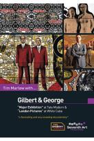 Tim Marlow with Gilbert and George
