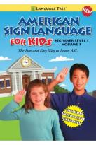 American Sign Language for Kids, Vol. 1