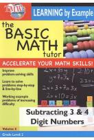Basic Math Tutor: Subtracting 3 & 4 Digit Numbers