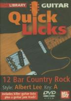 Guitar Quick Licks - Albert Lee 12 Bar Country Rock