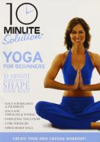 10 Min Solution:Yoga For Beginners