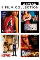 Action 4 Pack: Latin Dragon/Chicago Boricua/The Street Kign/No Turning Back