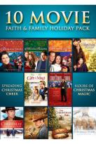 10 Movie Faith & Family Holiday Pack