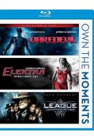 Daredevil/Elektra/The League of Extraordinary Gentlemen
