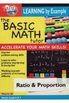 Basic Math Tutor: Ratio & Proportion