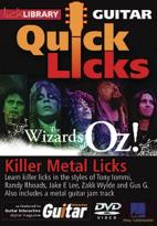Lick Library: Guitar Quick Licks - The Wizards of Oz! Killer Metal Licks
