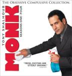Monk: The Obsessive Compulsive Collection Seasons 1 - 4