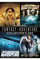 Curse of King Tut's Tomb / The Poseidon Adventure / Merlin's Apprentice / Blackbeard