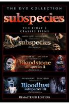 Subspecies Box Set