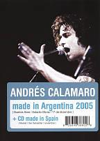 Andres Calamaro: Made in Argentina 2005