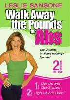 Walk Away the Pounds for Abs with Leslie Sansone 2 in 1 DVD Set