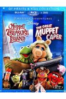 Of Pirates & Pigs Collection: Muppet Treasure Island/The Great Muppet Caper