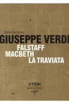 Opera Exclusive: Giuseppe Verdi - Falstaff/Macbeth/La Traviata