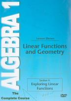Algebra 1 - The Complete Course - Lesson 11: Linear Functions and Geometry