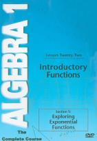 Algebra 1 - The Complete Course - Lesson 22: Introductory Functions