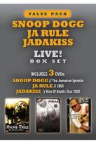 Snoop Dogg, Ja Rule & Jadakiss: Live! Box Set