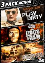 Cries of War: Play Dirty/The Dogs of War/The Purple Plain