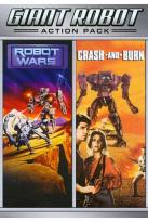 Giant Robot Action Pack: Robot Wars/Crash and Burn