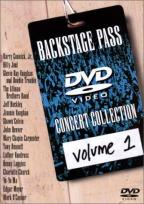 Backstage Pass Concert Collection Volume 1