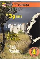 39 Steps/ The Lady Vanishes/Jamaica Inn