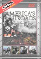 America's Railroads - The Steam Train Legacy 3-Pack