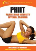 PHIIT: Pilates High Intensity Interval Training - Intermediate Workout