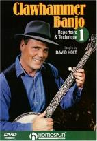 David Holt: Clawhammer Banjo - Repertoire & Technique, Vol. 1