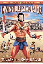 Gladiator Double Feature - Invincible Gladiator (1962)/Triumph of the Son of Hercules (1961)