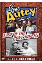 Last of the Pony Riders