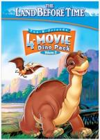 Land Before Time: 4 Movie Dino Pack Vol. 2