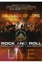 Rock and Roll Hall of Fame: Message of Love