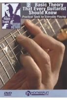Happy Traum Guitar Method: Basic Theory That Every Guitarist Should Know, Vol. 2