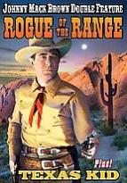 Johnny Mack Brown Double Feature: Rogue of the Range/Texas Kid